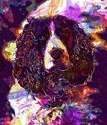 """New artwork for sale! - """" Dog English Springer Spaniel  by PixBreak Art """" - http://ift.tt/2tNMLu8"""