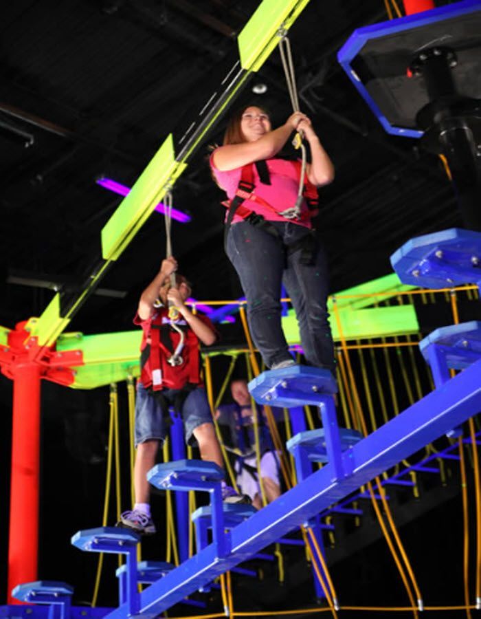 Wonderworks Takes Family Fun To New Heights With Its Indoor Ropes Challenge Course 36 Feet 3 Stories 20 Obstacles Broadway At The Beach Myrtle