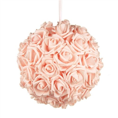 7 Inches White Flower Ball: 17 Best Ideas About Pink Flower Centerpieces On Pinterest