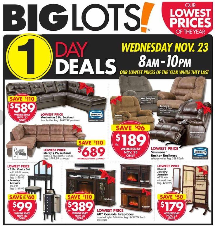 Big Lots Black Friday Ad 2016 - http://www.hblackfridaydeals.com/biglots-black-friday-deals-sales-ads/