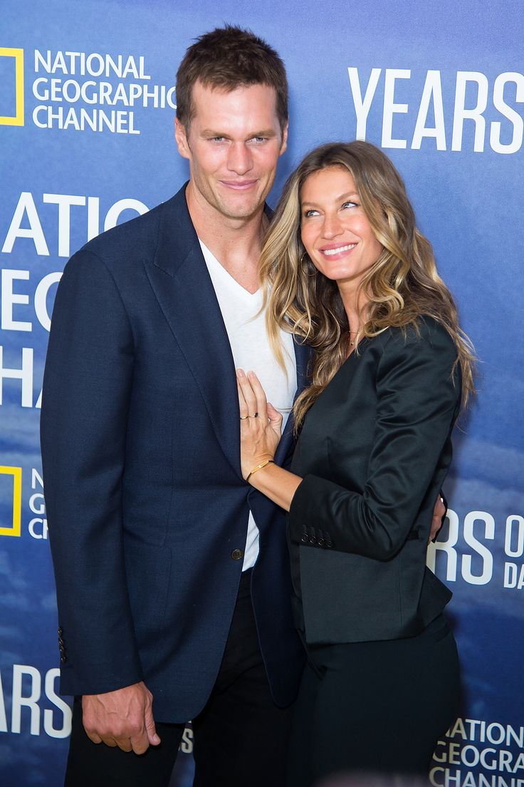 Gisele Bündchen and Tom Brady It's hard to believe that the gorgeous model,Gisele Bündchen, and NFL hunk, Tom Brady, would have any problems in the dating department—but they actually met on a blind date! Clearly it was a match made in heaven and the couple tied the knot in 2009.