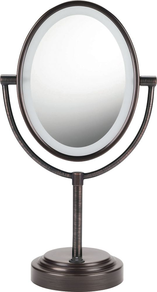 Conair - Double-Sided Illuminated Mirror - Bronze