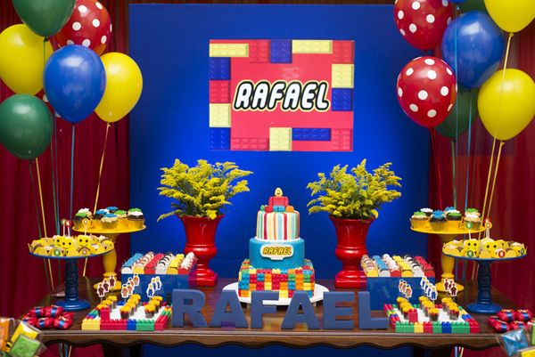 Festa Lego infantil para meninos