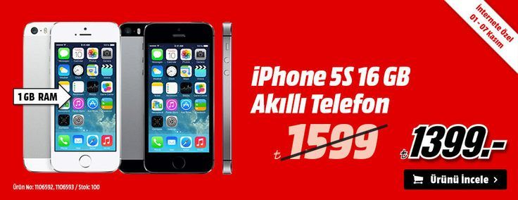 Media markt iphone 5s