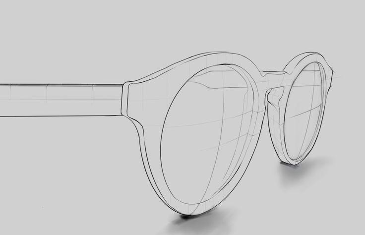 Ralph Lauren sunglasses sketch