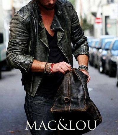 #accessories #macandlou #style #fashion #vintage #leather #bracelets #fashion