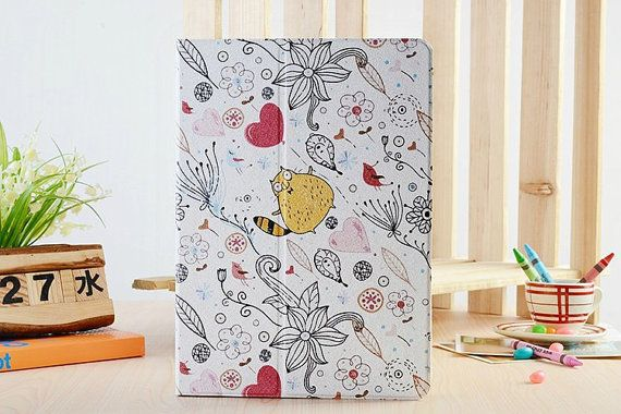 Cute Yellow Cat Cartoon with Floral Flip by SereneLifeDesign, $29.99