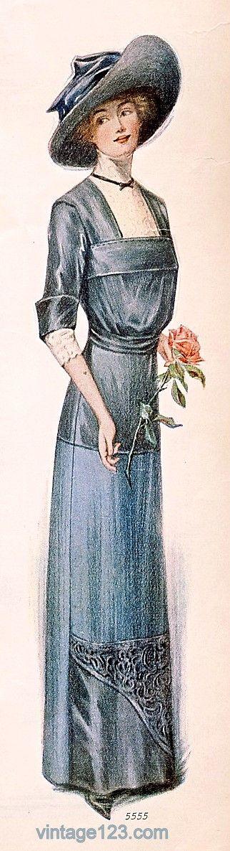 September 1910 Paris Fashion ~ The Ladies' Home Journal (the Paris Fashion Issue)