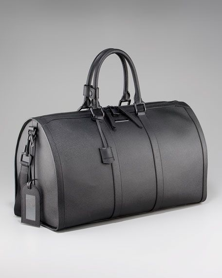 Burberry - Leather Duffel Bag