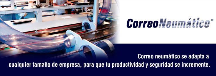 Que padre tecnología para enviar documentos y otro tipo de materiales http://www.correoneumatico.com/