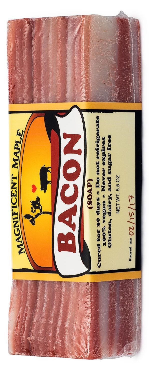 Bacon Soap: The most realistic bacon soap you'll ever see! (no, seriously. It looks and smells just like bacon)