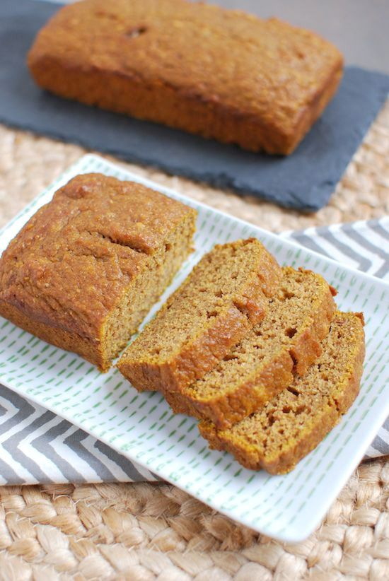An easy pumpkin bread recipe that requires just one bowl and makes a moist, flavorful loaf