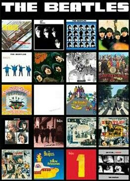 The beatles album cover history