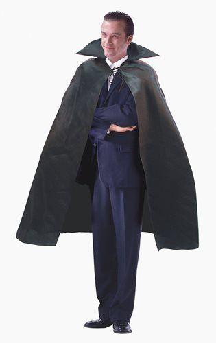 Dracula Cape Male Halloween Fancy Dress Costume - One Size @ niftywarehouse.com #NiftyWarehouse #Dracula #Vampires #ClassicHorrorMovies #Horror #Movies #Halloween #Vampire