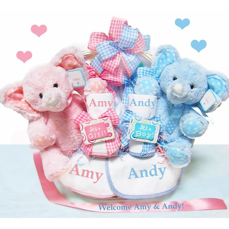 double the blessings twins baby gift