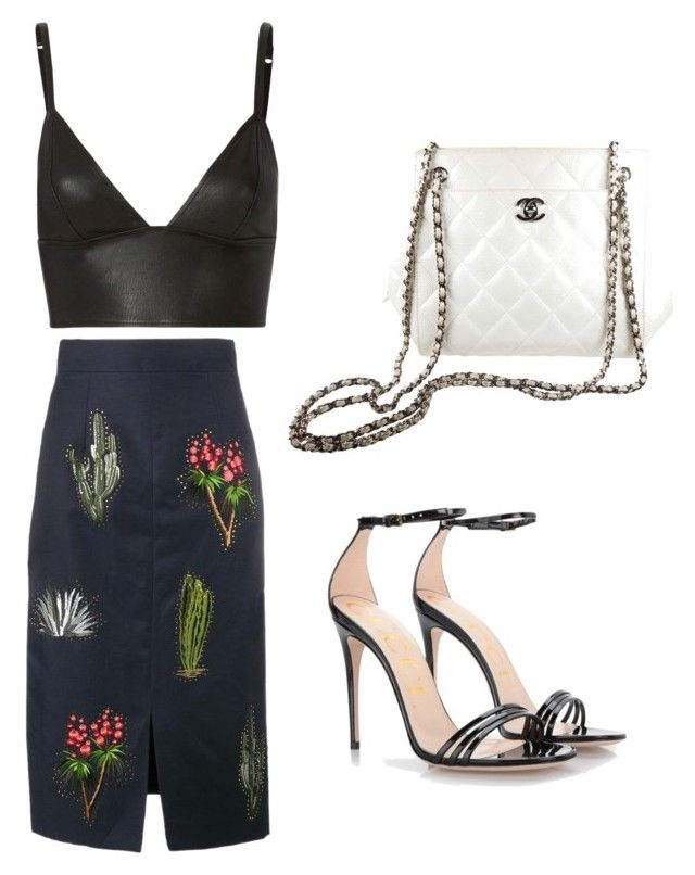 """""""Spring"""" by saryr on Polyvore featuring mode, STELLA McCARTNEY, T By Alexander Wang, Chanel et Gucci"""