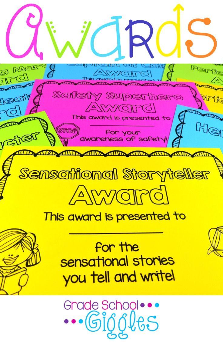 Student Awards 2011: Awards And Reward Certificates