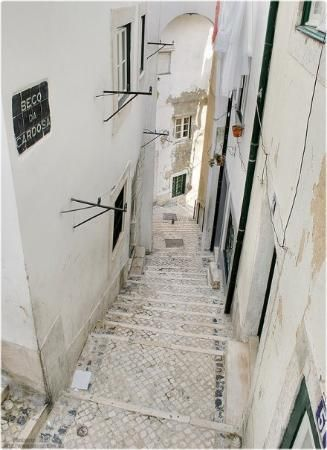 Alfama, Lisbon:  Wonderful sights delight walkers at every turn in this culturally rich and charming part of Lisbon, which through its architecture reminds visitors of its Visigothic roots, Arabic influence and fishing port heritage.