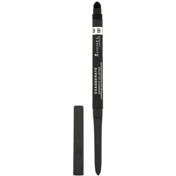 Rimmel London Exaggerate Auto Eye Definers ($6.11) ❤ liked on Polyvore featuring beauty products, makeup, eye makeup, eyeliner, eyes, rich brown, waterproof pencil eyeliner, brown eye makeup, pencil eyeliner and brown eyeliner