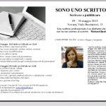 """""""SONO UNO SCRITTORE"""": scrivere e pubblicare. A maggio a Novara"""