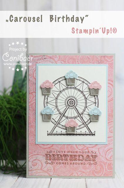 Vorschau auf den Frühjahr-Sommer : Carousel Birthday - { Conibaers creative desk } Constanzes kreatives Blog