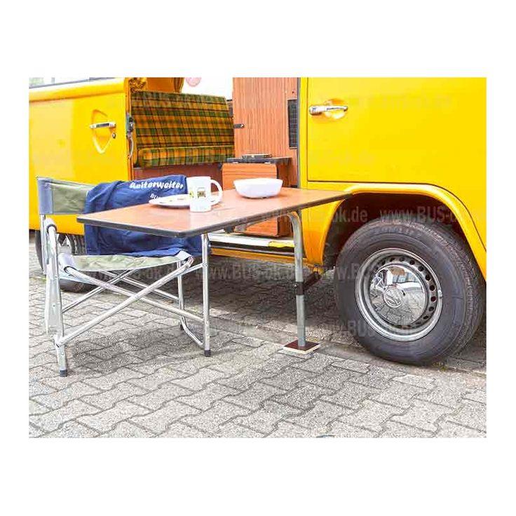 t2 au enhalterung f r westfalia tisch in vw bus. Black Bedroom Furniture Sets. Home Design Ideas
