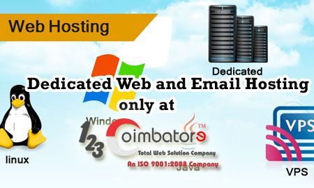 Professional and Most Active #Websites Need high Performance and secured #webhosting server. 123Coimbatore provides best #web #hosting service in #coimbatore, #india