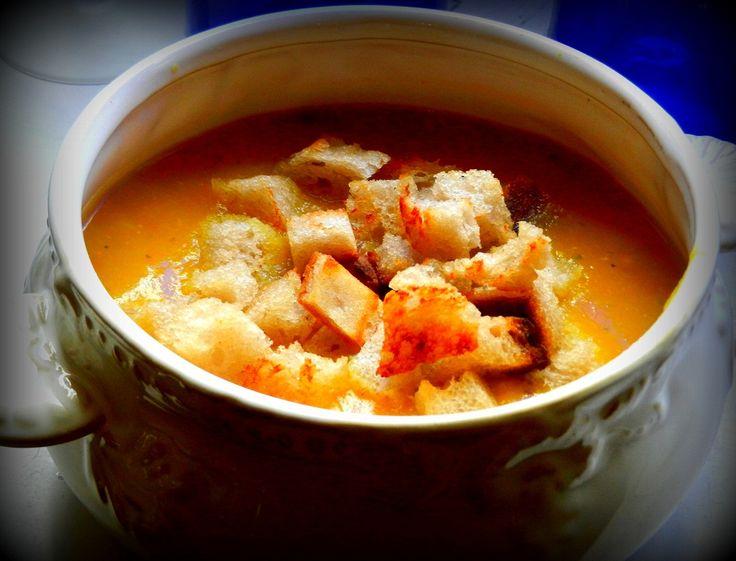 Zupa krem z dyni...