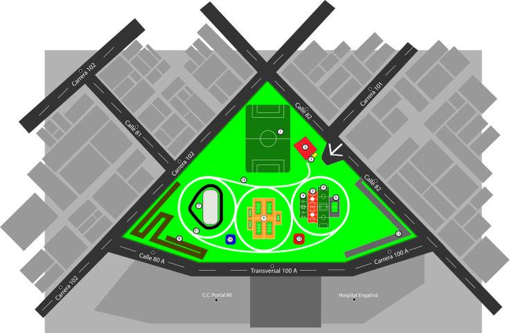 creación de un nuevo mapa del parque san andres
