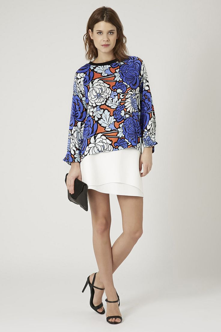 Photo 2 of Bright Floral Print Top