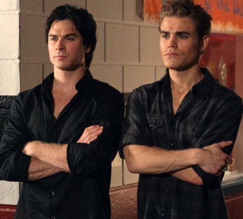 The blood brothers  #Salvatore #TVD