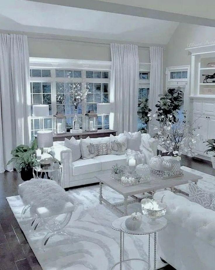 21 elegant white living room decor ideas and remodel 00002