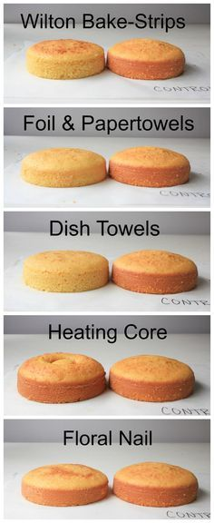 We tested 5 methods for baking cakes flat from the oven and the results might surprise you!