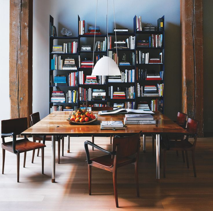 In His Own San Francisco Loft Interior Designer Steven Volpe Placed Vintage Armchairs Around A