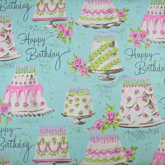 vintage wrapping paper - by holidaykitschklatsch