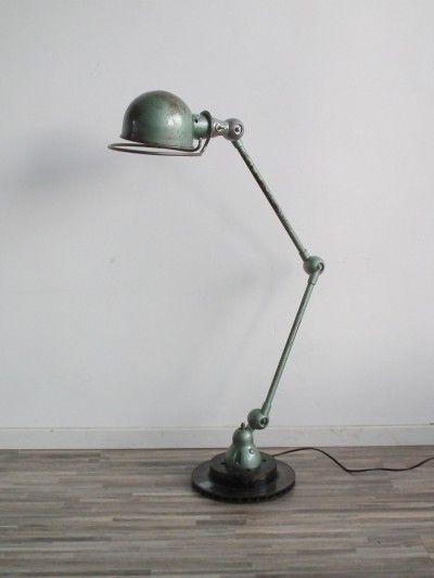 Jieldé tafellamp, industrieel groen | Hal72
