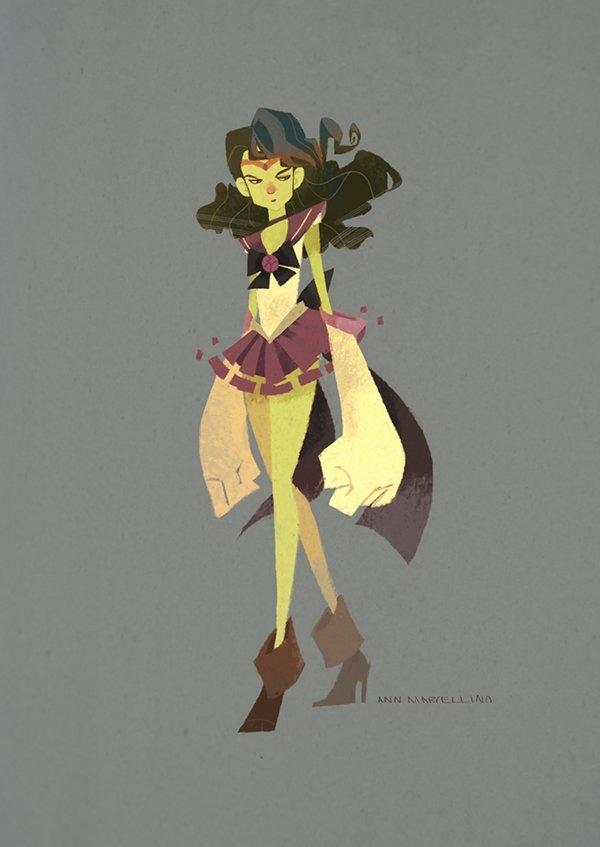 Avengers Sailor Moon Style