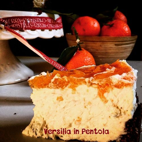 Cheesecake al Punch al Mandarino