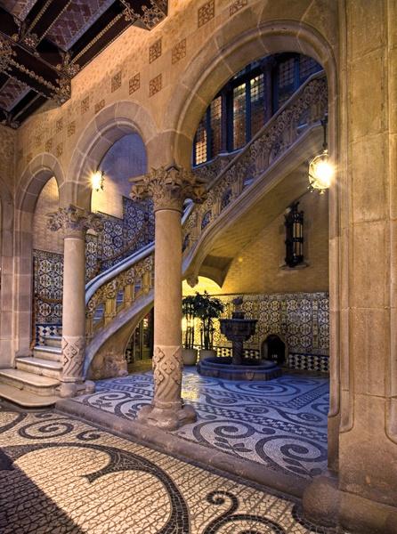 Palacio Baró de Quadras (AKA Asia House headquarters) - Barcelona, Catalonia