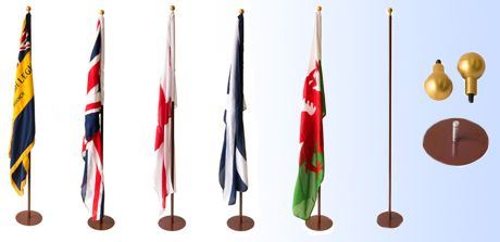 Ceremonial Indoor Flagpole Collection