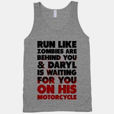 Run Like Daryl is Waiting | HUMAN