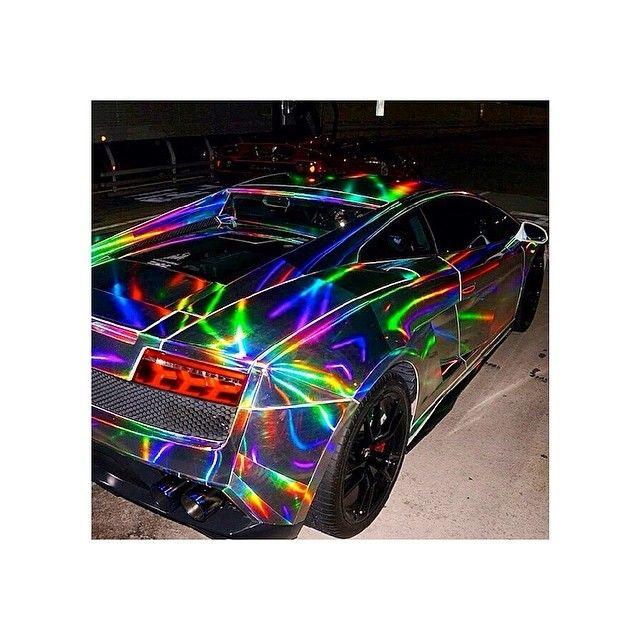 Holographic Lamborghini!