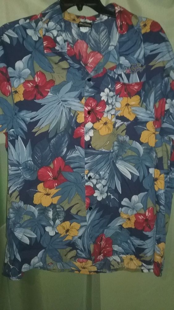 Elvis Presley Blue Hawaii Men's 2XL Hawaiian Camp Shirt Elvis Graceland Label #Unbranded #Hawaiian