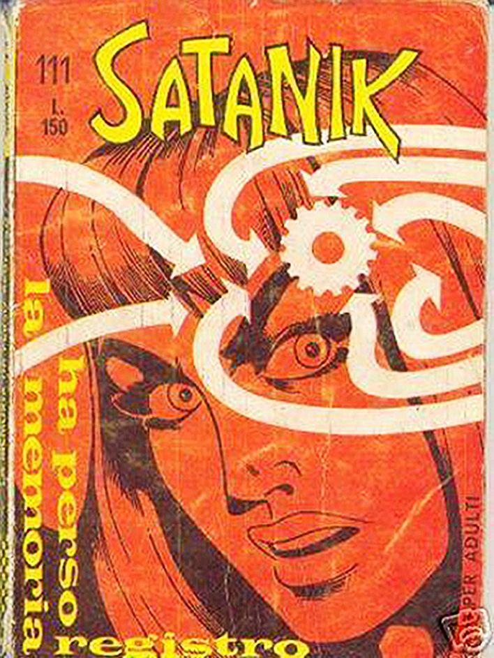 Italian Horror Comics | Zontar of Venus: Satanik (Italian Comic) #1