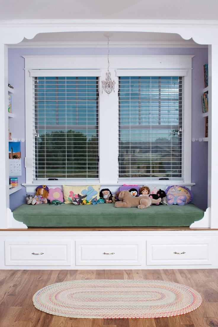 Great kids window seat - plan 101S-0023 - houseplansandmore.com