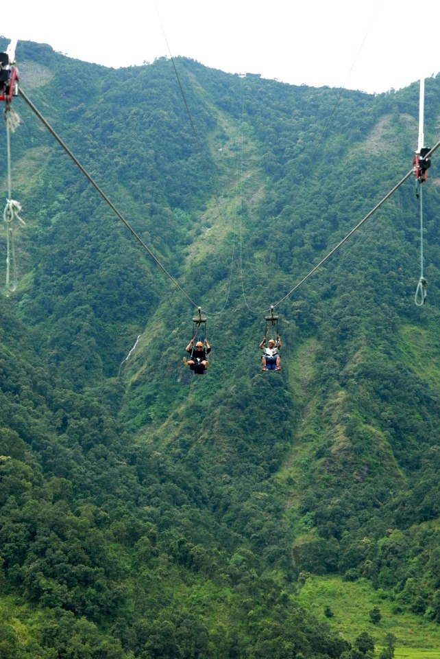 ZipFlyer in Pokhara,Nepal. Wow.... We are going to Pokhara in September, I need to look this up