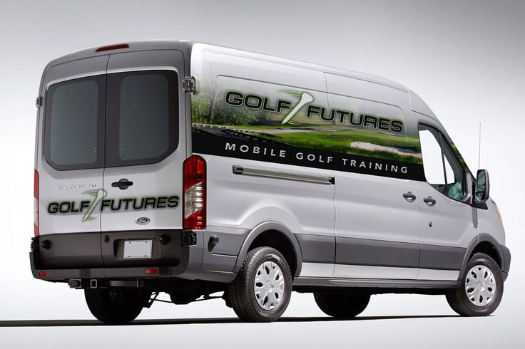 Partial Vehicle Wrap Cost and More #golf #fleet #van #wrap