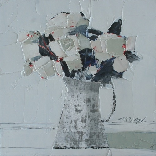 Mhairi  McGregor RSW - White Roses