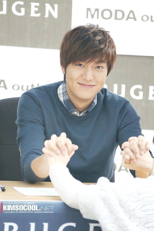 Lee MinHo's Trugen Fansign Event [May 4th 2013]
