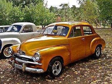 Gold FJ Holden by Ferenghi